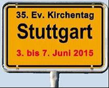 KiTag 2015 Ortsschild Stuttgart
